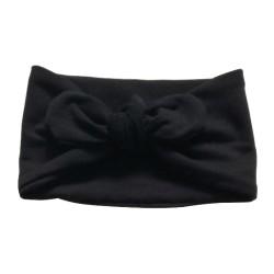 Bandeau Large Molleton Noir