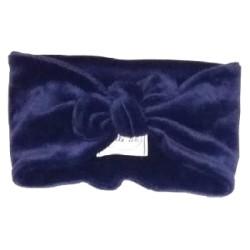 Bandeau Velours Bleu