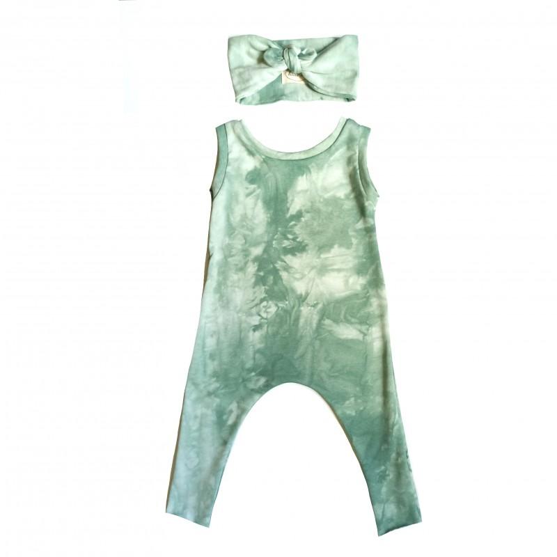 Combi Lucas Tie & Dye Vert